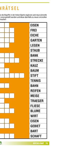 Lösungen brückenrätsel Kreuzworträtsel Hilfe